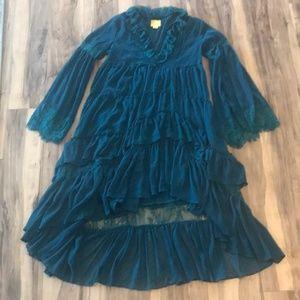 Anthropologie Dresses - Anthr Maeve Meadow Ruffle RARE